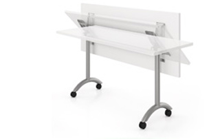 Spec Recommends That Casters Are Ordered On Tables With Flip Top Mechanism.