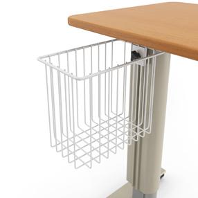 Overbed Tables Storage Basket